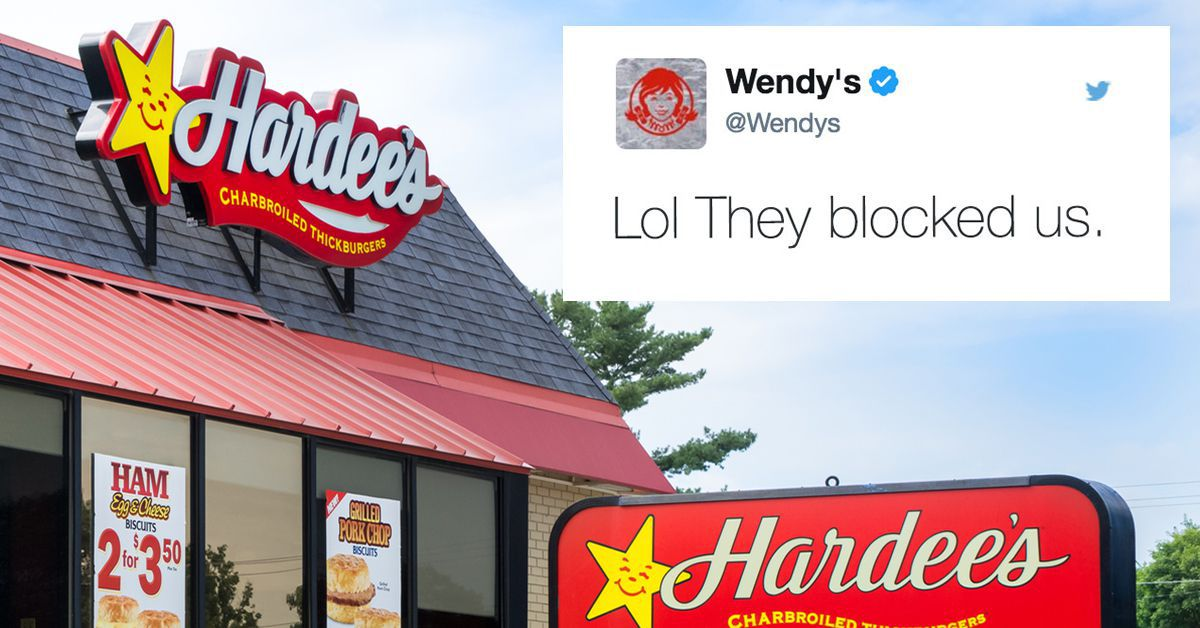 Wendys and Hardees Battled on Twitter and Wendys Got
